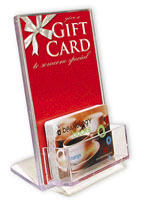 gift card display small