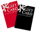 gift card display signs