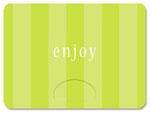 gift card holder multi stripe